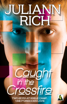 Juliann's debut book, Caught in the Crossfire, out in stores June 16th, 2014