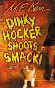 Dinky Hockey Shoots Smack by M.E. Kerr (HarperCollins Publishers, 1989)